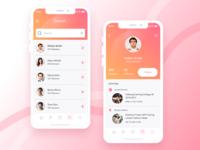 Event app- Profile UI