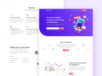 Social Media Marketing Landing Page