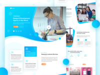 Startup | Agency Landing Page