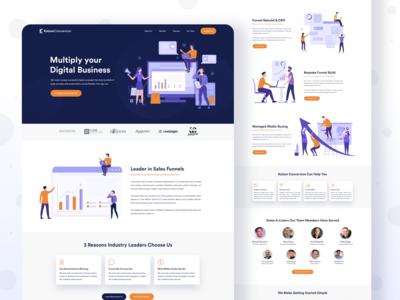 Marketing Planner Landing Page