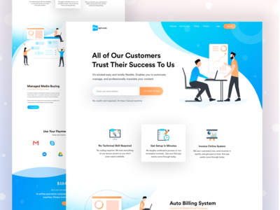 Payopt | Product Landing page deisgn
