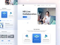 Solution Page for HB Communications Website