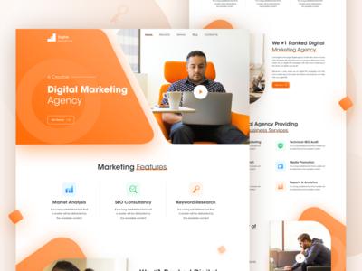 Digital Marketing agency Landing Page