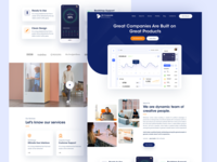 Corporate Business Agency Landing Page