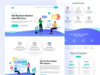 SEO Digital Agency Website