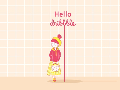 Hello Dribbble hello dribbble inbetweening