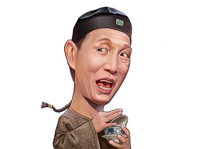 Eunuch film hongkong illustrations