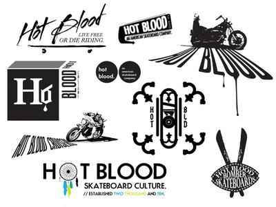 Hot Blood logos