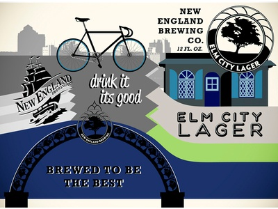New England Brewing- Elm City Lager