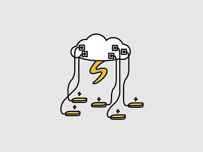Electricity typography typographyart doodles icon iconart art illustration illustrator artwork vector vectorart
