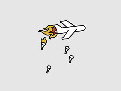 Plane vectorart vector typographyart typography illustrator illustration iconart icon doodles artwork art