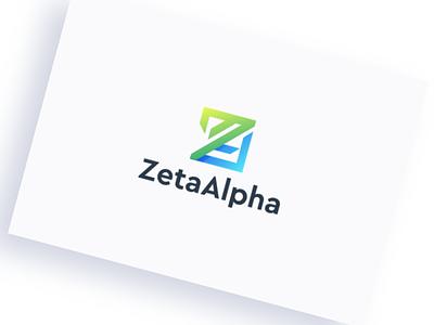 logo for zetaalpha branding corel team design ilustrator coreldraw forsale good nice logo