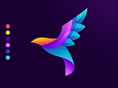 bird colorful e-sport sport colorful bird bird logo design ilustrator coreldraw forsale good nice logo