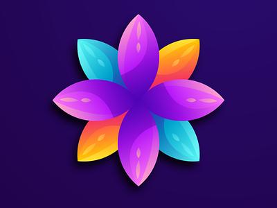 flower simple logo available for sale branding ui good coreldraw forsale design ilustrator logodesign flower logo design nice logo