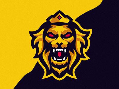 Lion King Logo Design junggle lionbest lion head coreldraw e-sport good lion king lion logo free team best aninam lions esport logo esport lion nice logo