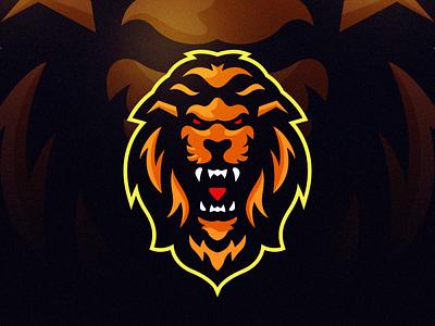 lion new best game gaming esports esport lionlogo lion illustration sportlogo vector e-sport sport design ilustrator coreldraw forsale good nice logo