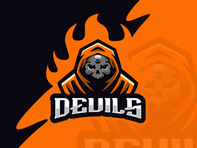 devil e-sport logo sports branding sports logo devil logo team devil sportlogo vector e-sport sport design ilustrator coreldraw forsale good nice logo