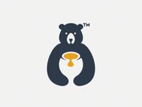 Honey bear logo,avaible @mt