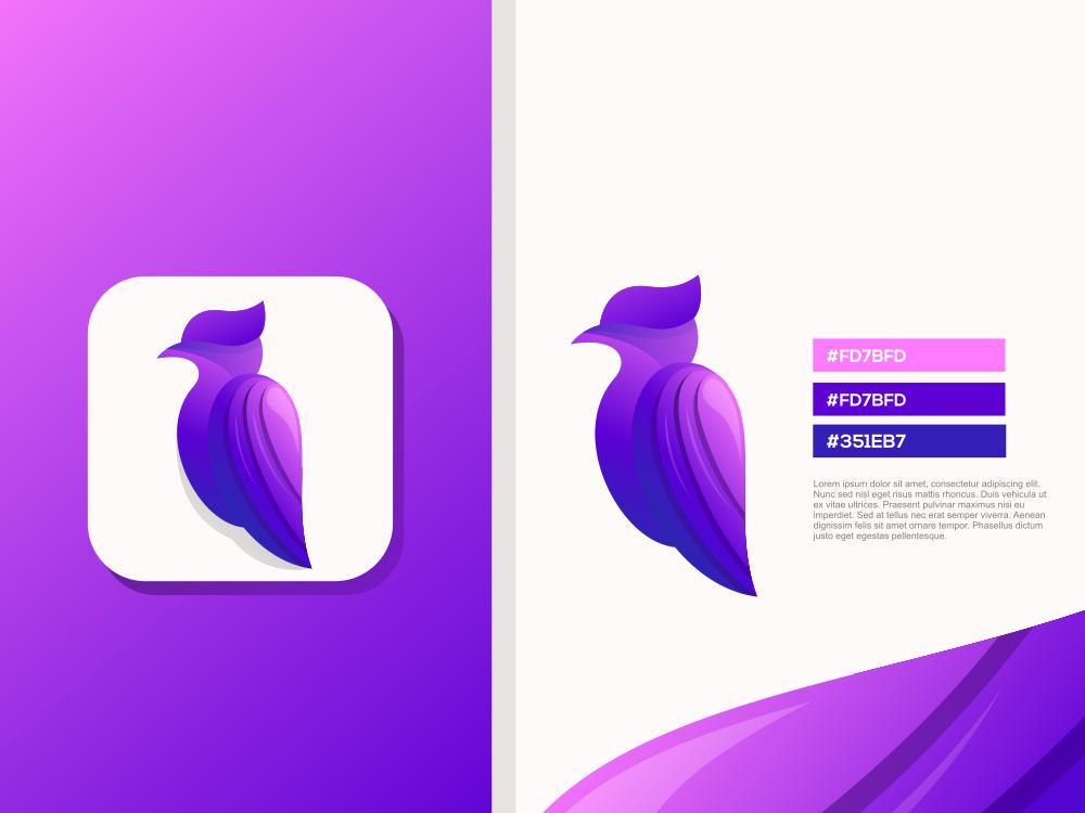 bird logo design ilustrator sport forsale good birds ux ui bird logo bird
