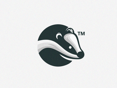 Badger corel coreldraw logo design clothing forsale nice good badger