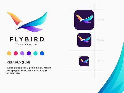 bird logo design branding illustrator great vector illustration sportlogo design ilustrator coreldraw e-sport forsale good nice app