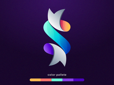 Letter S logo corel web app icon ux illustration sportlogo design ilustrator coreldraw branding vector ui forsale good nice logo s logo