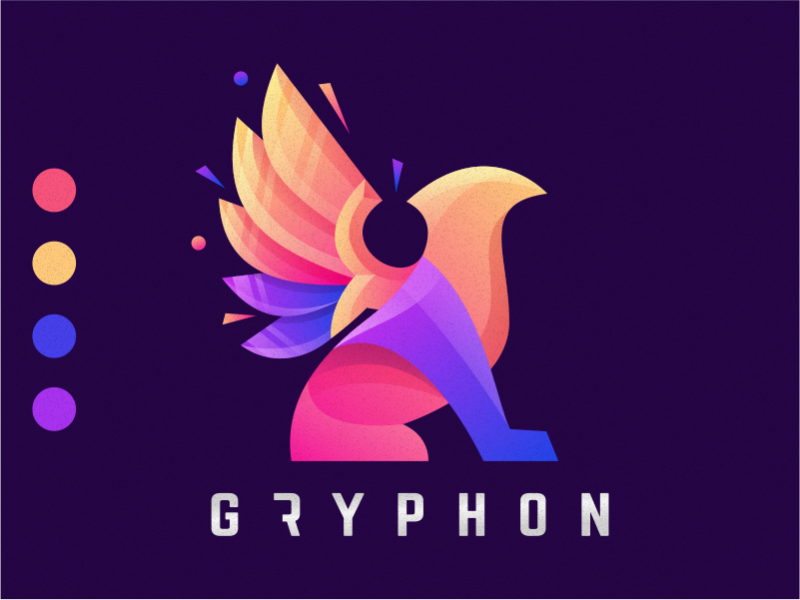 Gryphon ux app awesome ui ai illustrator great branding illustration corel vector sport gryphon ilustrator coreldraw forsale good nice logo