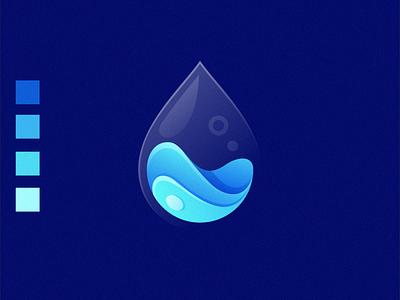 water logo design ilustrator nice logo good forsale coreldraw best dribbble shot colorful gradient water logo logo water liquidlogo water