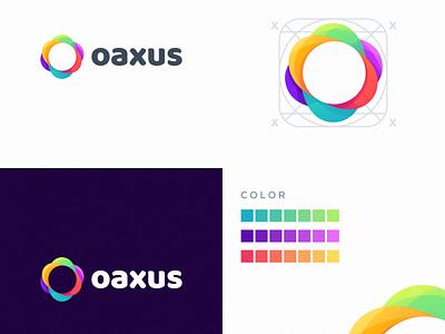 oaxus logo design e-sport sport design ilustrator coreldraw forsale good nice logo colorful design colorful logo colorful