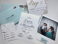 Stationary - Wedding invitations