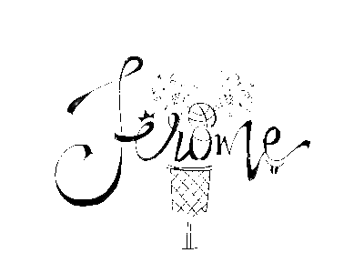 Handlettered Name and Illustration