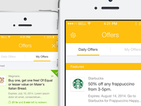 Mobile SDK Single and Daily Offers Screens