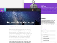 Kids Discover - Galaxies Topic View