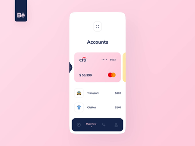 Dapi Integration into Banking app bank app banking video movement bank card money dashboard ux design ui ux app mobile interface fintech finance app integration case study behance
