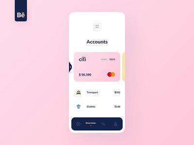 Dapi Integration into Banking app bank app banking video movement bank card money dashboard ux design ui ux app mobile interface fintech finance app integration case study behance