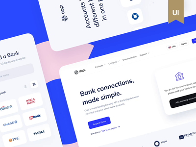 Dapi Case Study – Featured on Behance 🎉🎉🎉 award video banking bank app interface ux design ui ux mobile app motion animation interaction case study app mobile