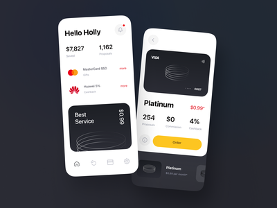 Advanced Cashback Feature for Banking Mobile App minimal cashback banking product design bank app ux ui ux design interface fintech bank card app mobile