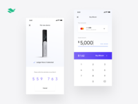 Crypto banking app