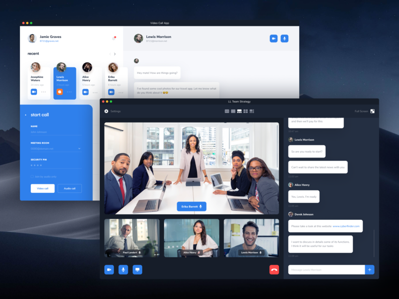 video call on messenger for mac