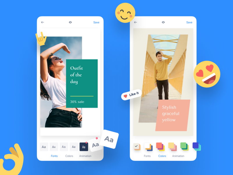 Smoozly App ios stories instagram design clean mobile ux design ux ui app