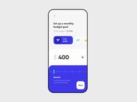 Budget setups for Banking App