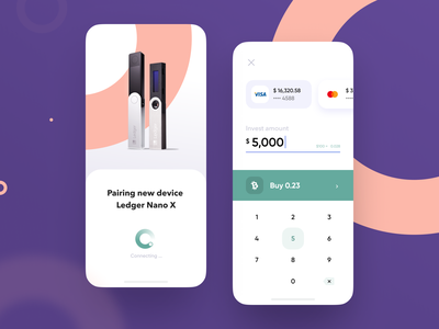 Crypto Banking App design system app product design loading card crypto exchange currency ux design ui ux mobile interface fintech finance app business banking app banking bank card