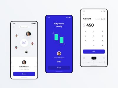 NFC Money Transfer for Banking app