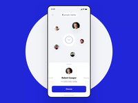 NFC Money Transfer Movement bar charts animation ux design ui ux statistics spendings mobile interface fintech finance app filter business bar chart banking app banking bank card bank app payment