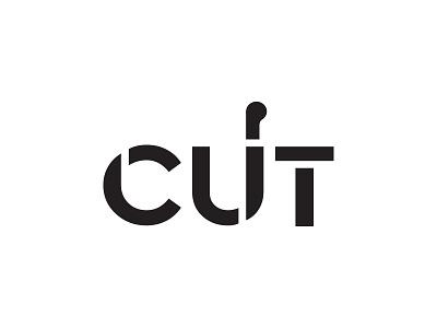 Cut boucherie simple icon brandhealth branding identity