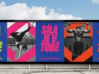 IDENTITY FOR EPICBODY. (POSTERS)
