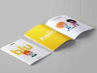 Children's book, editorial design.