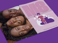 M8 commemorative Poster, international Women's Day.