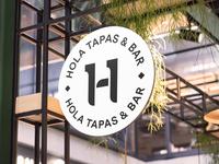 Spanish Bar Tapas Sign