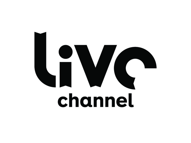 LIVE Channel, UNUSED CONCEPT typography symbol logo simple identity branding